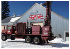 Binz Bros. Well Drilling in Ashland, Bayfield, Iron, and Gogebic Counties